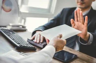 ISO 37001 Anti-Bribery Management System (ABMS) illustration